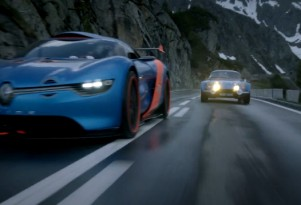 Renault Alpine models, new and old