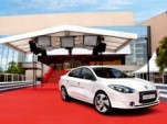 Renault Fluence Z.E. at Cannes Film Festival