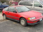 Renee Zellweger's 1988 Honda CRX [via eBay Motors]