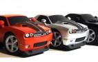 Bend Rod Garage Dodge Challenger sculptures