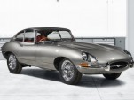 Restored Jaguar E-Type from Jaguar Classic's Reborn program