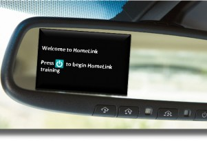 2011 Toyota Avalon: Easier Homelink Lets You Forget About Remotes