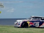 Rhys Millen and the Veloster rally car go golfing