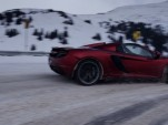 Rhys Millen drives the McLaren MP4-12C Spider down Loveland Pass - image: McLaren
