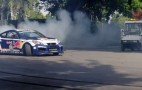 Drift Thug Hoons Genesis Coupe Through Hyundai HQ: Video