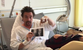 Richard Hammond in hospital following his crash in a Rimac Concept_One