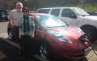New life for old Nissan Leaf electric car: battery replacement and what it took