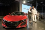 Rick Hendrick takes delivery of first 2017 Acura NSX