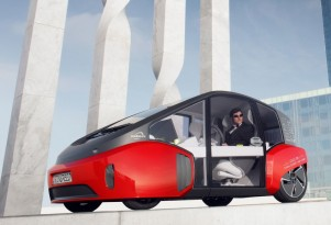 Rinspeed Oasis electric urban car to appear at CES, Detroit Auto Show