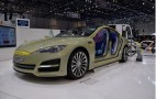 Rinspeed Reveals Tesla Model S-Based XchangE Autonomous Concept: Live Photos