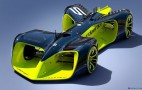 Roborace autonomous race car concept revealed