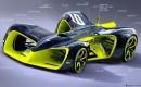 Roborace autonomous race car