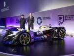Roborace Robocar self-driving race car, 2017 Mobile World Congress