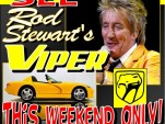 Rod Stewart's stolen 2004 Dodge Viper at Volo Auto Museum.