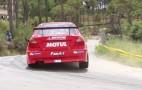 Watch this Mitsubishi Evo rock a hill climb in Lebanon