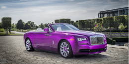 Rolls-Royce Dawn in Fux Fuchsia