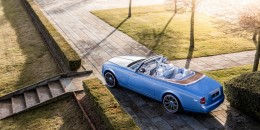 Rolls-Royce Phantom Drophead Coupe Blue Magpie