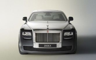 Coupe, Convertible Versions Of Rolls-Royce 200EX Rumored