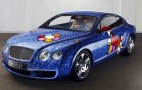 Britto-Bentley combines traditional luxury with modern pop-art