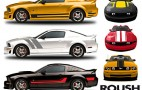 New ROUSH Vinyl Stripes for 2005-2011 Ford Mustangs