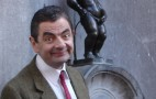 Rowan Atkinson Turns Into Mr. Bean While Watching Formula 1