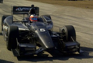Rubens Barrichello - Photo courtesy KV Racing Technology