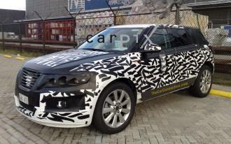 Spy Shots: 2010 Saab 9-4X