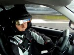 Sabine Schmitz drives the Grand Cherokee SRT8