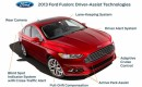 Safety assist features on the 2013 Ford Fusion