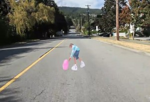 Friday Video: Canadians Get Fancy, Use Trompe L'oeil Children As Speedbumps