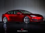 Saleen FourSixteen based on the Tesla Model S