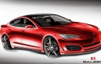 Saleen Teases Its First Electric Car, A Custom Tesla Model S