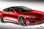 Famous Tuner Saleen Releases Tesla Model S Hot-Rod Sketc