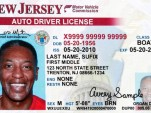 Sample driver's license