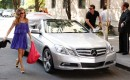 Sarah Jessica Parker, Chris Noth, and a Mercedes-Benz E-Class Cabriolet