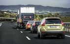 SARTRE Self-Driving Road Train Takes To Public Roads: Video