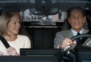 Scene from BMW's ad for Super Bowl XLIX