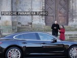 Scene from 'Car sharing, Porsche style' video