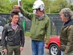 Scene from final 'Top Gear' episode starring Clarkson, Hammond and May - Image via BBC