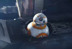 Scene from Jeep's 'Star Wars: The Force Awakens' ad