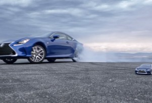 Scene from Lexus' 'Let's Play' Super Bowl XLIX spot