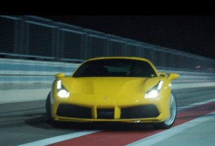 Scene from Pennzoil Joyride Circuit video