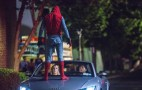 "Look out for the 2019 Audi A8 in ""Spider-Man: Homecoming"" debuting June 28"
