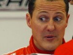 Schumacher hits pedestrian while driving Fiat van