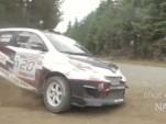 Scion xD rally car