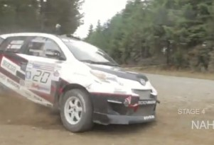 Scion xD rally car