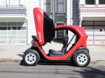 Scoot Quad (nee Renault Twizy) tested in San Francisco, Oct 2015