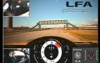 Video: Scott Pruett Drives The 2012 Lexus LFA At Infineon