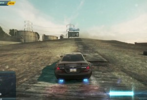 Screen grab from Need For Speed Most Wanted