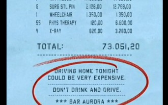 Video: Would A $40,000 Bar Tab Make You Reconsider Drinking And Driving?